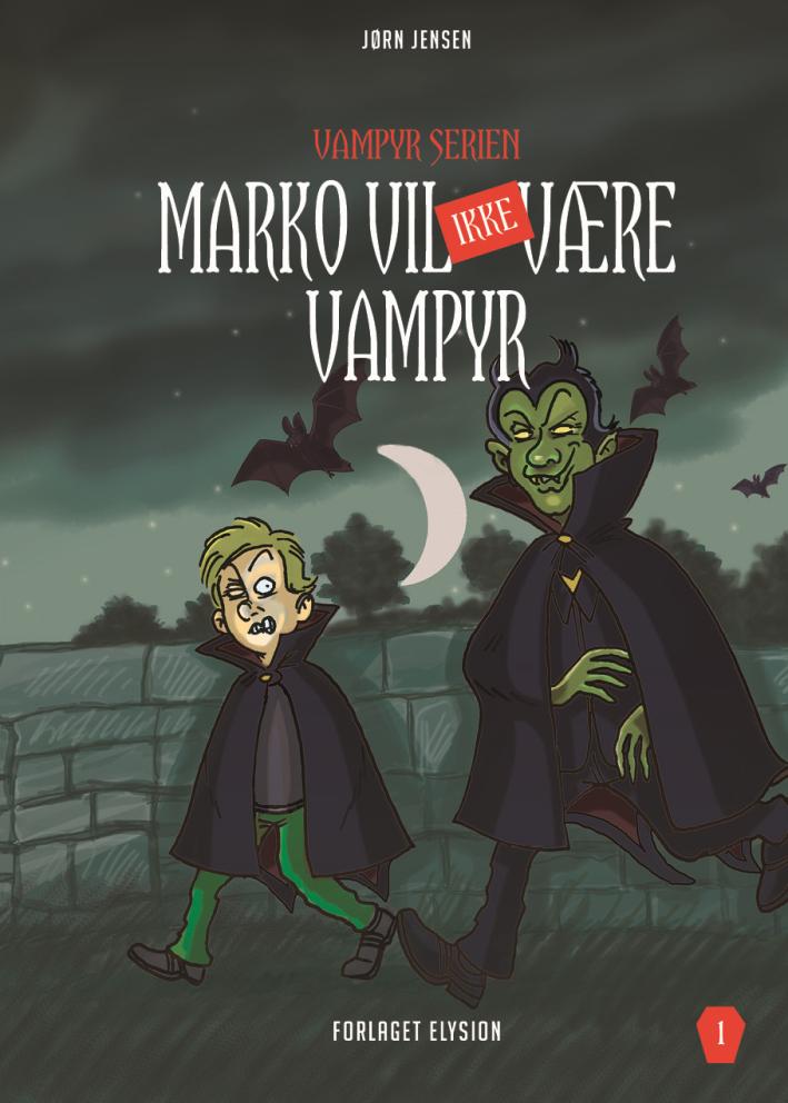 Vampyr serien 1: Marko vil ikke være vampyr - Maneno