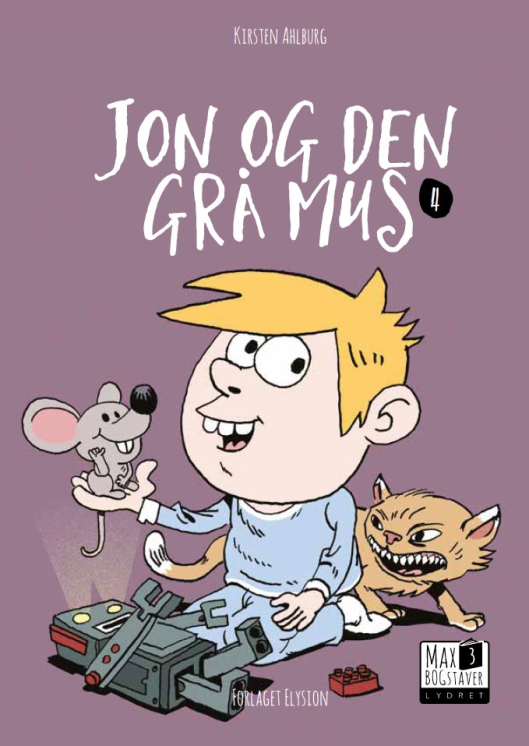 Jon og den grå mus - Maneno