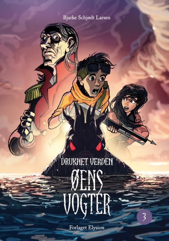 Druknet Verden #3: Øens Vogter - Maneno