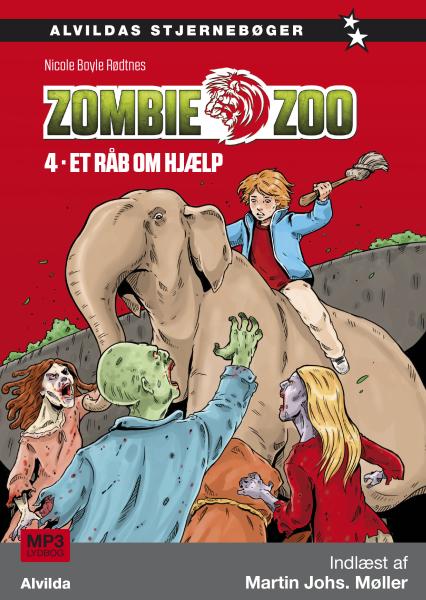 Zombie zoo #4: Et råb om hjælp - Maneno - 10954