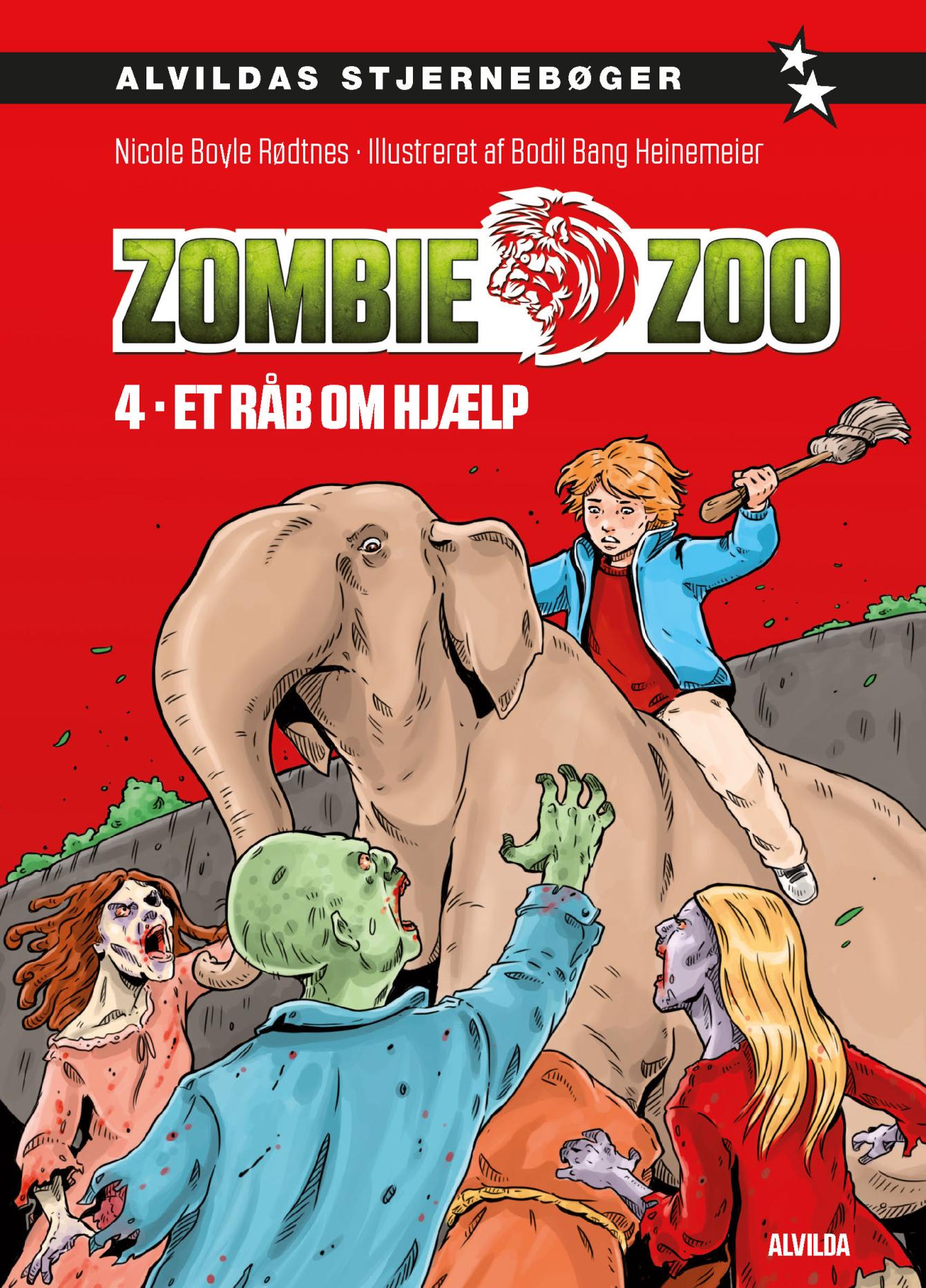Zombie zoo #4: Et råb om hjælp - Maneno - 10906