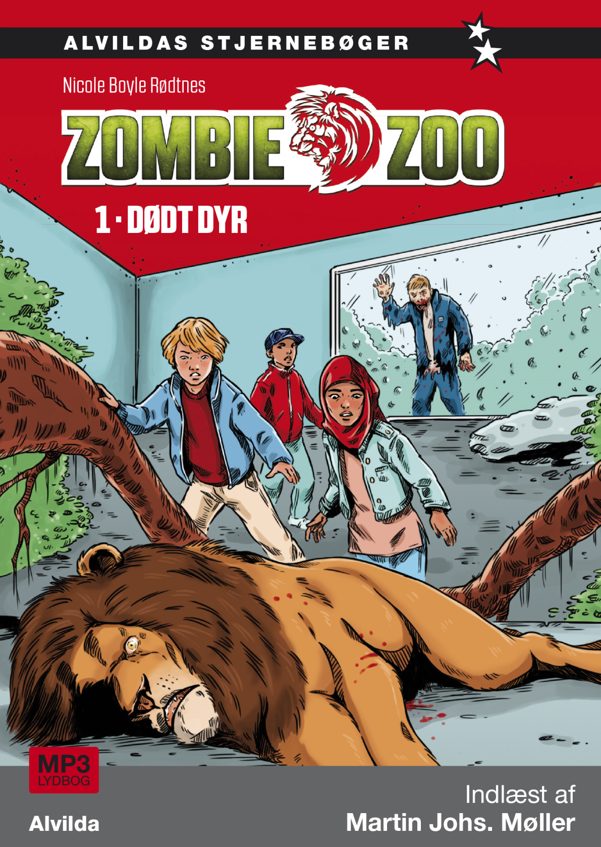 Zombie zoo #1: Dødt dyr - Maneno - 10956