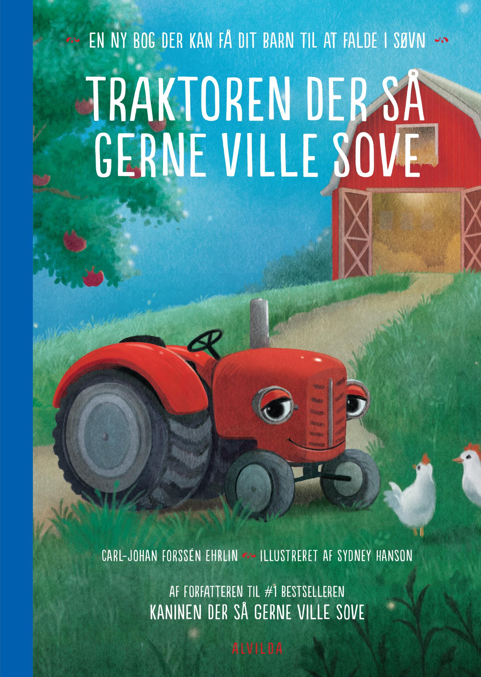 Traktoren der så gerne ville sove - en ny bog der kan få dit barn til at falde i søvn - Maneno