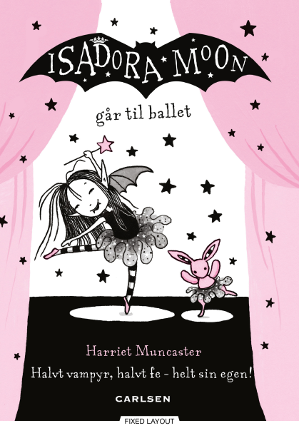 Isadora Moon #4: Isadora Moon går til ballet - Maneno