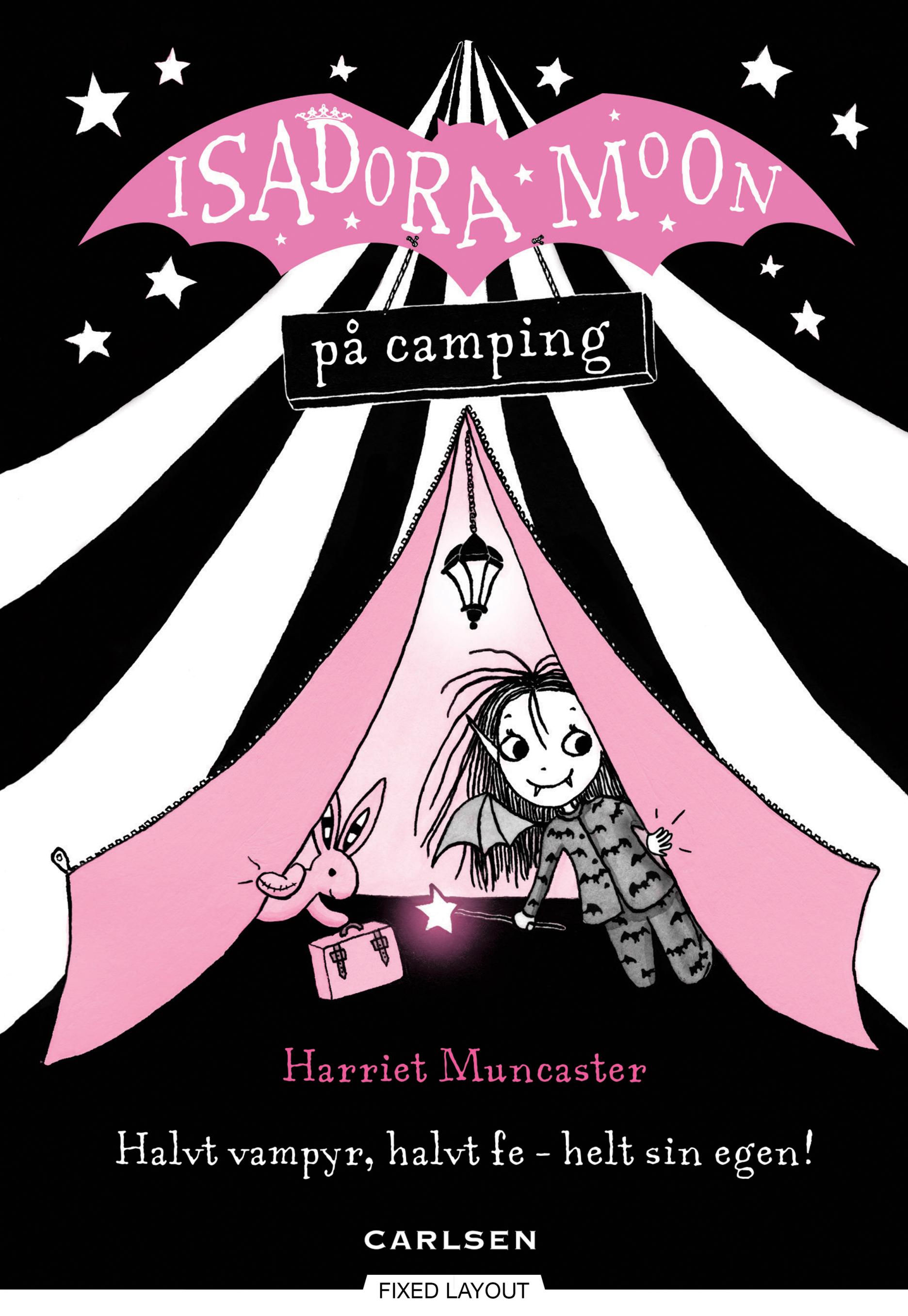 Isadora Moon #2: Isadora Moon på camping - Maneno
