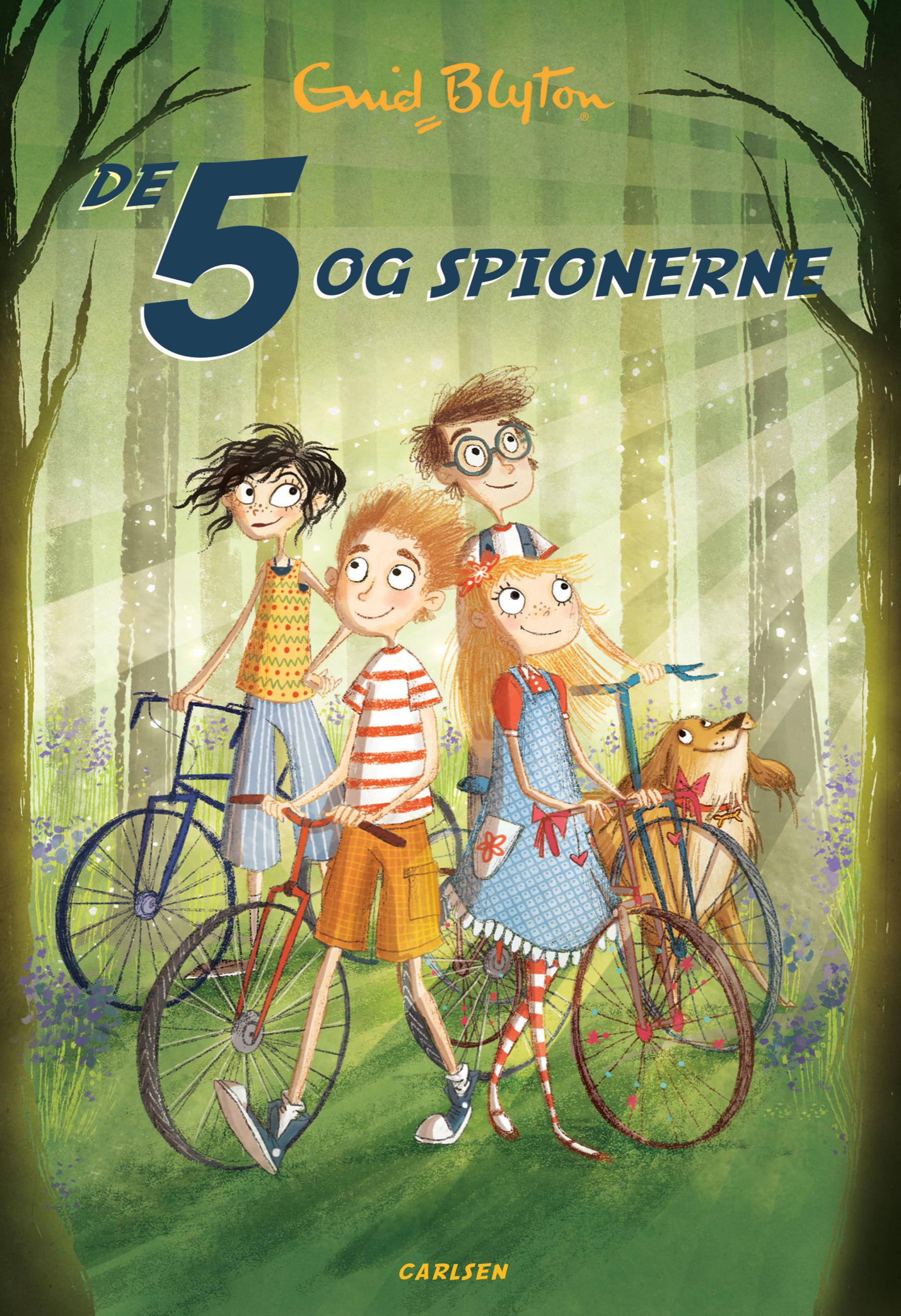 De 5 og spionerne (2) - Maneno