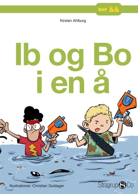 Ib og Bo i en å - Maneno