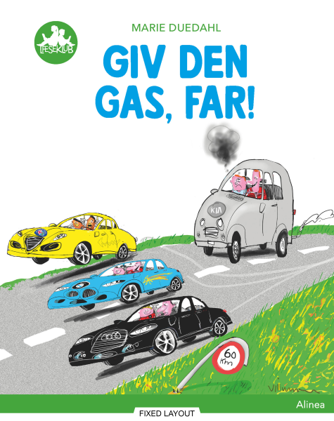 Giv den gas, far!, Grøn Læseklub - Maneno