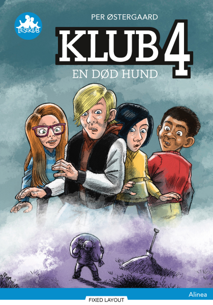 Klub 4 - en død hund, Blå Læseklub - Maneno