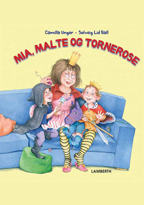 Mia, Malte og Tornerose - Maneno - 13966