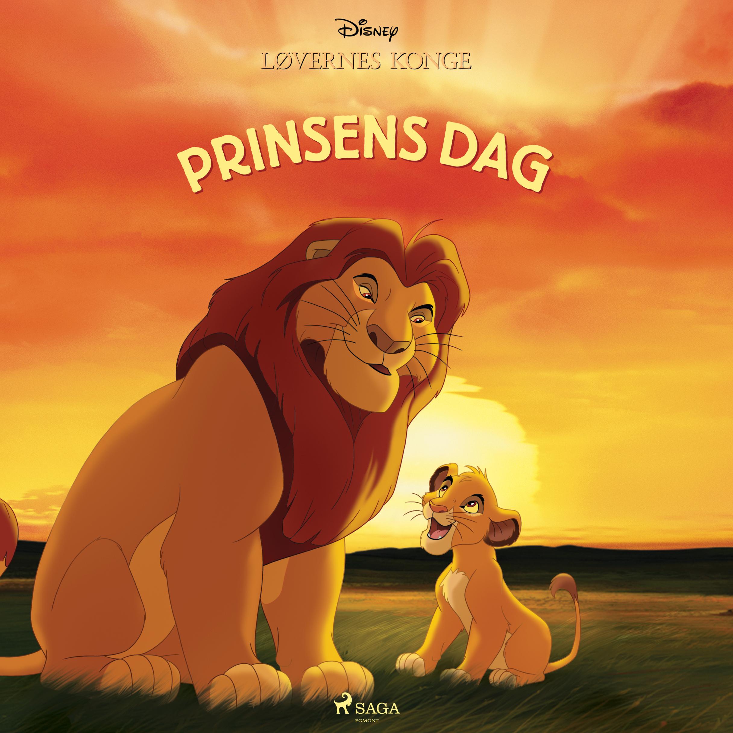 Løvernes Konge - Prinsens dag - Maneno