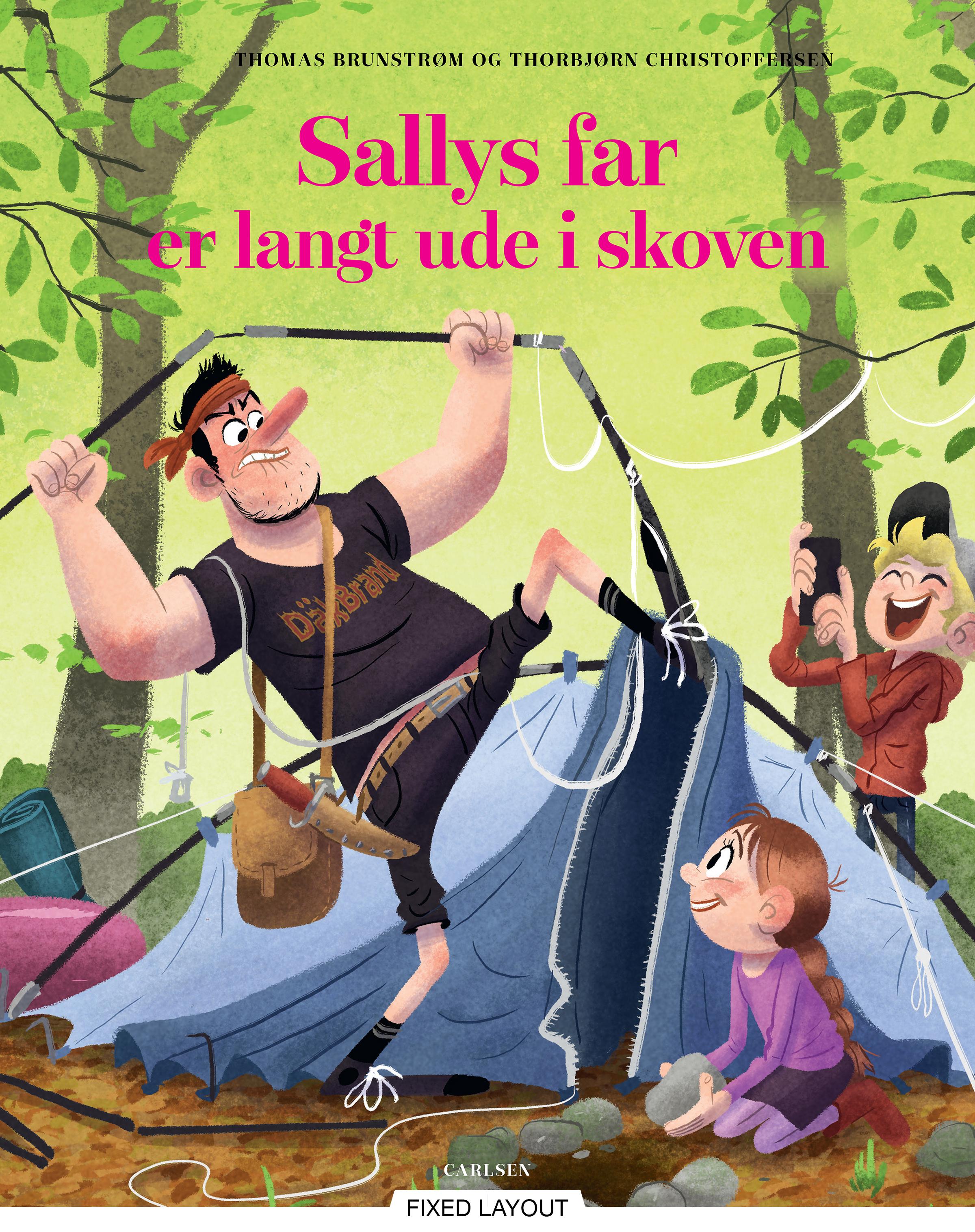 Sallys far er langt ude i skoven - Maneno - 12169