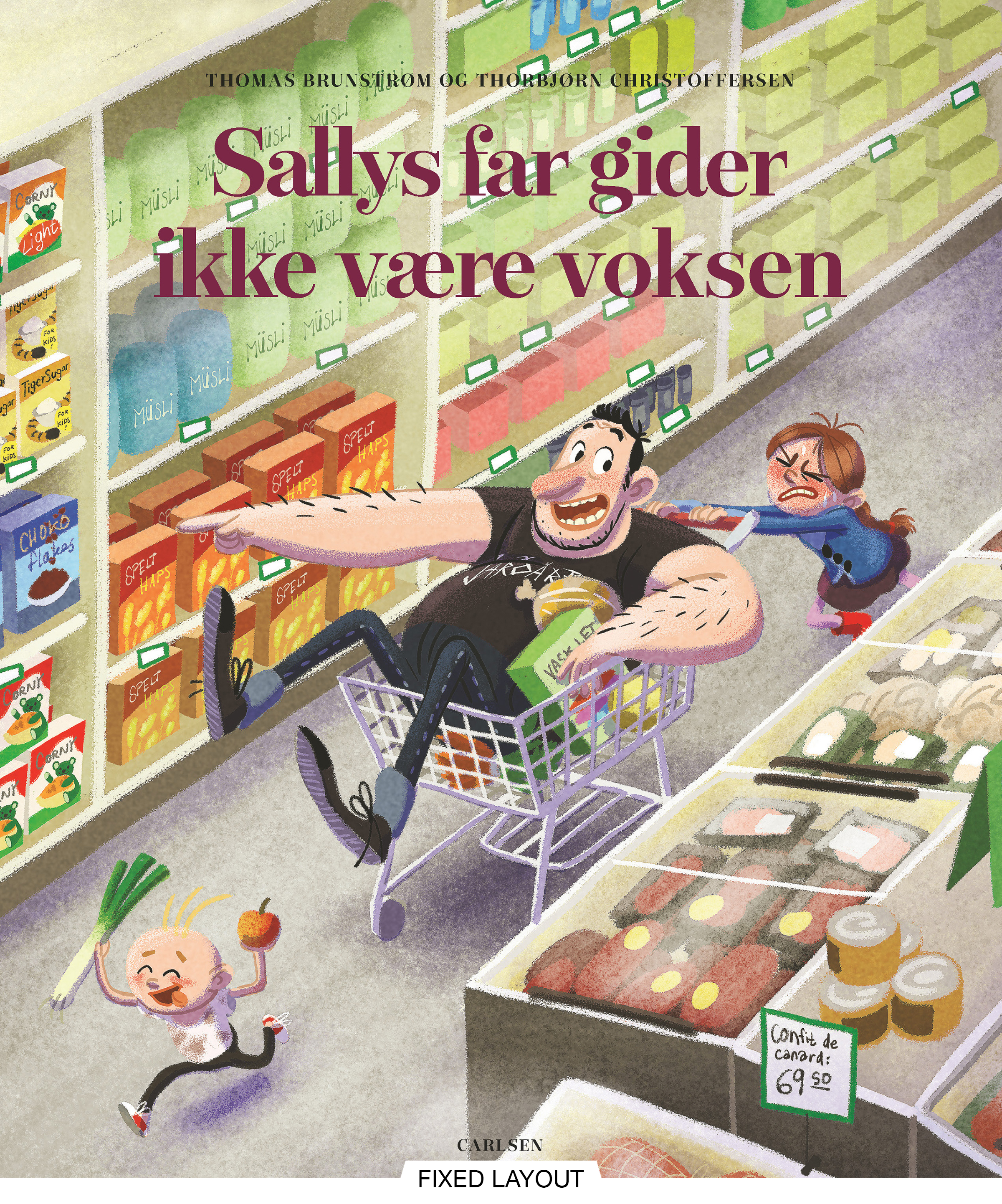 Sallys far gider ikke at være voksen - Maneno - 12173