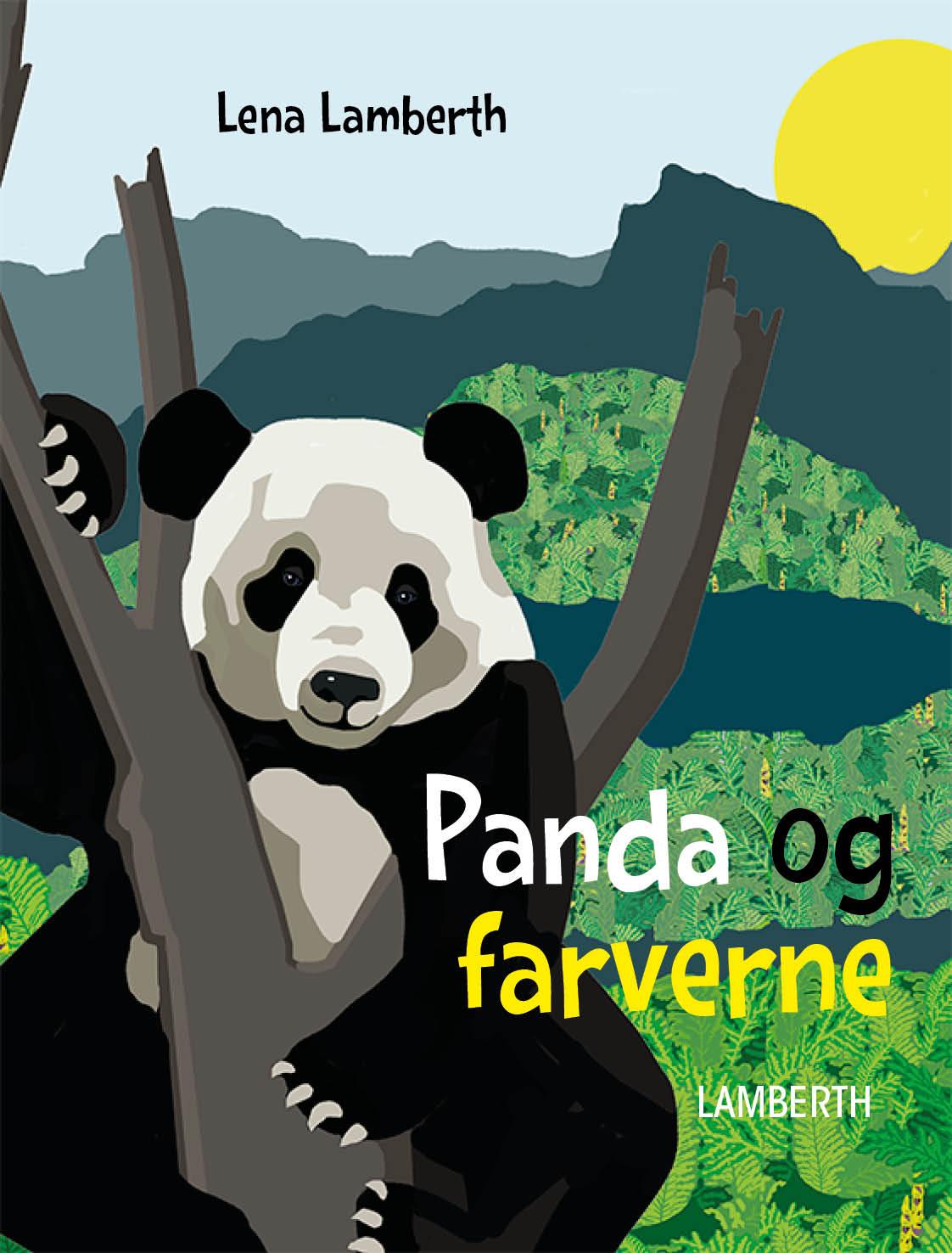 Panda og farverne - Maneno - 12417