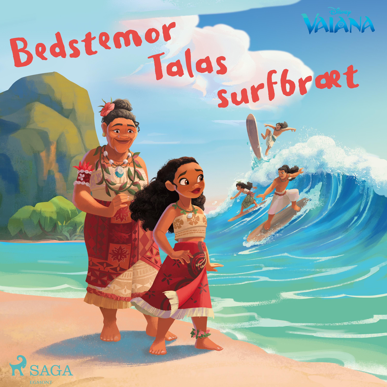 Vaiana - Bedstemor Talas surfbræt - Maneno