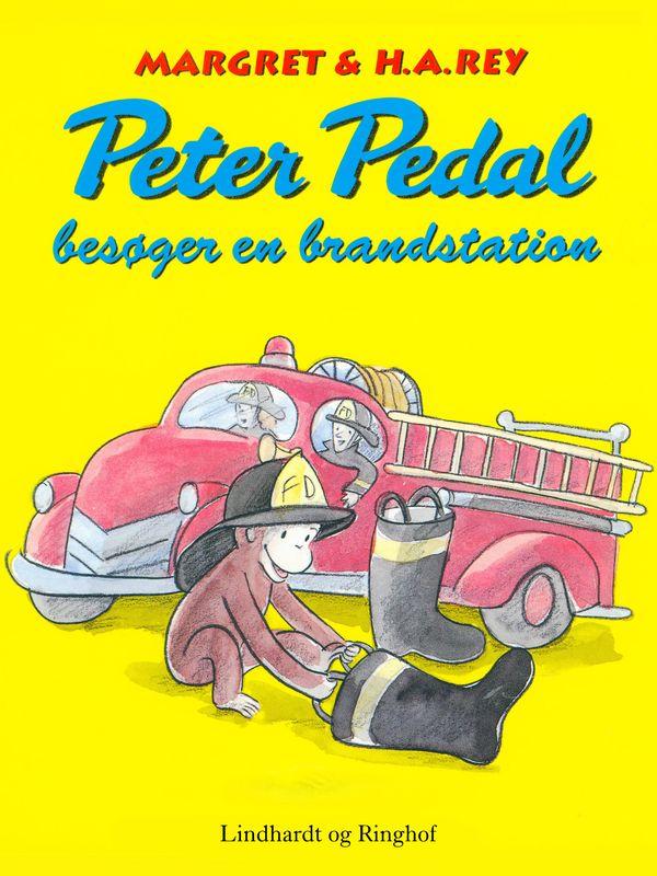 Peter Pedal besøger en brandstation - Maneno
