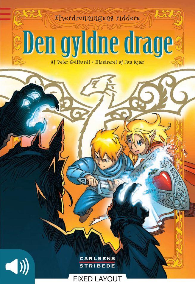 Elverdronningens riddere 8: Den gyldne drage - Maneno