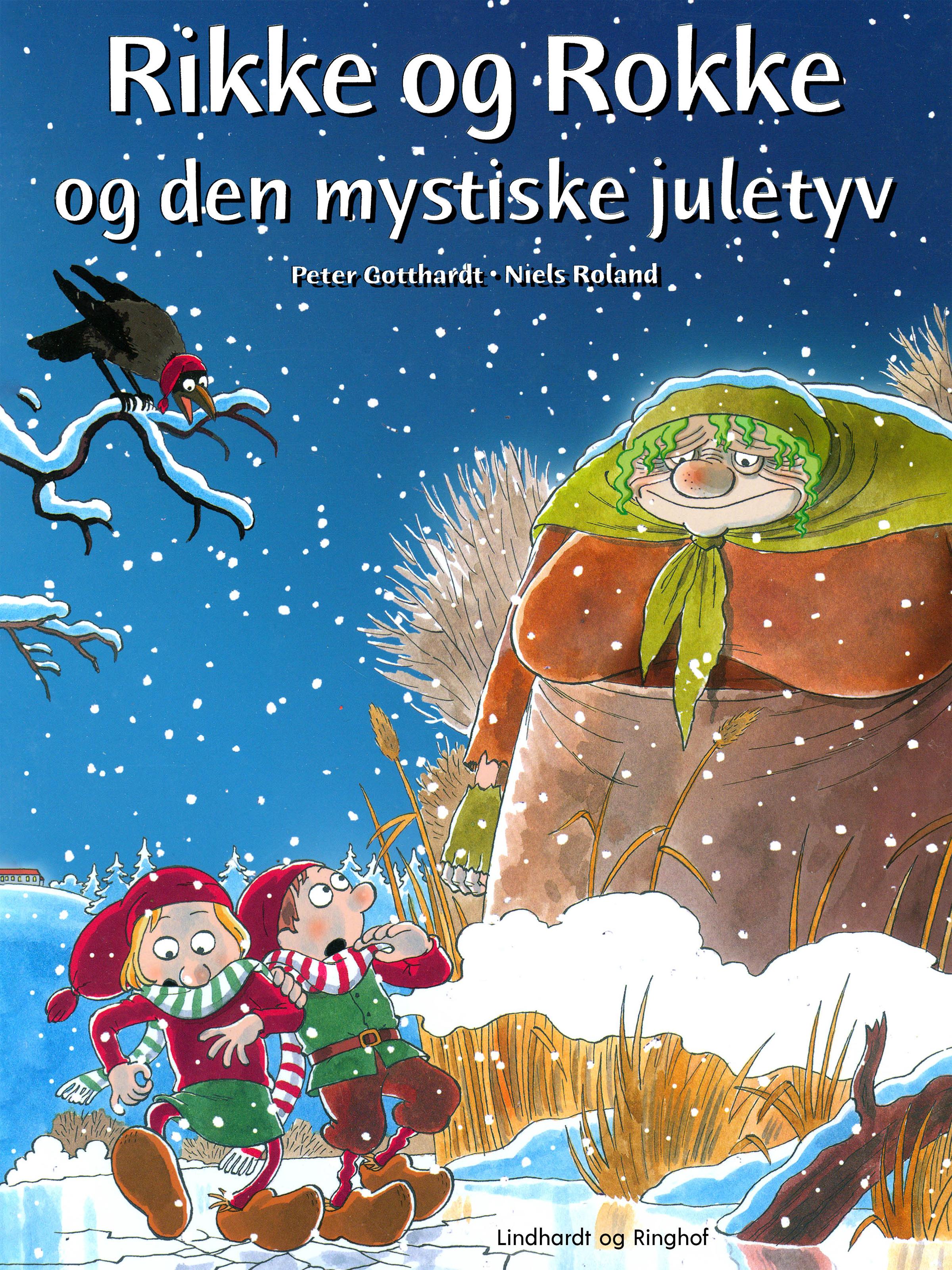 Rikke og Rokke og den mystiske juletyv - Maneno