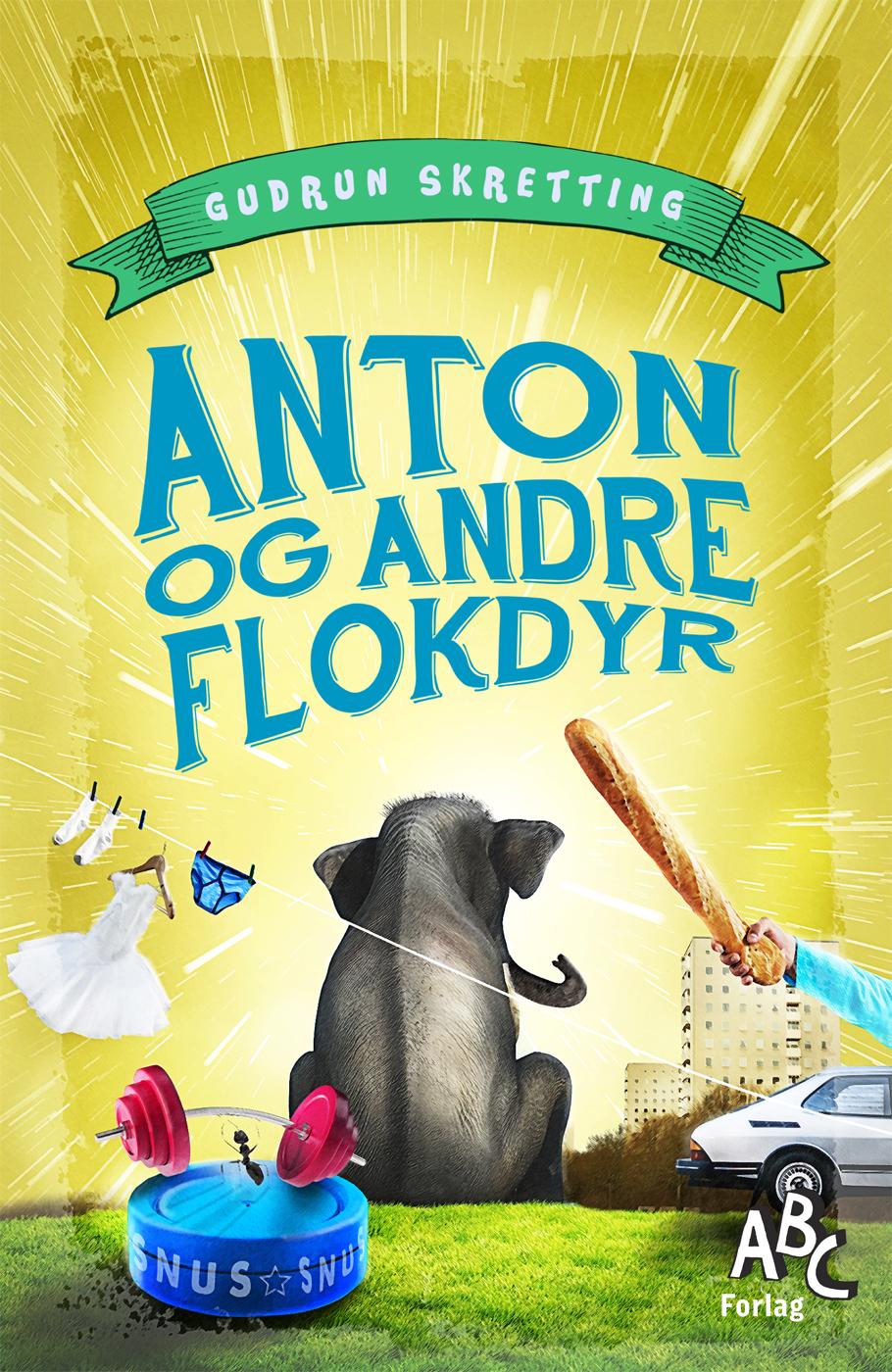 Anton og andre flokdyr - Maneno - 13137