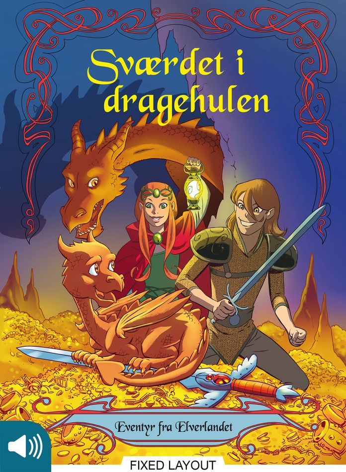 Eventyr fra Elverlandet 3: Sværdet i dragehulen - Maneno
