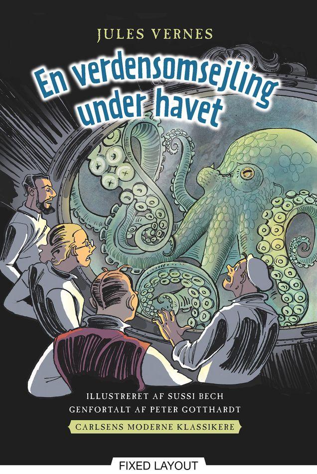 Carlsens Moderne klassikere 2: Jules Vernes En verdensomsejling under havet - Maneno