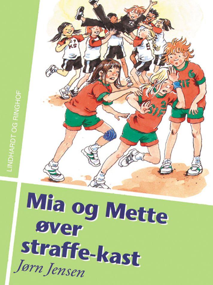 Mia og Mette øver straffe-kast - Maneno