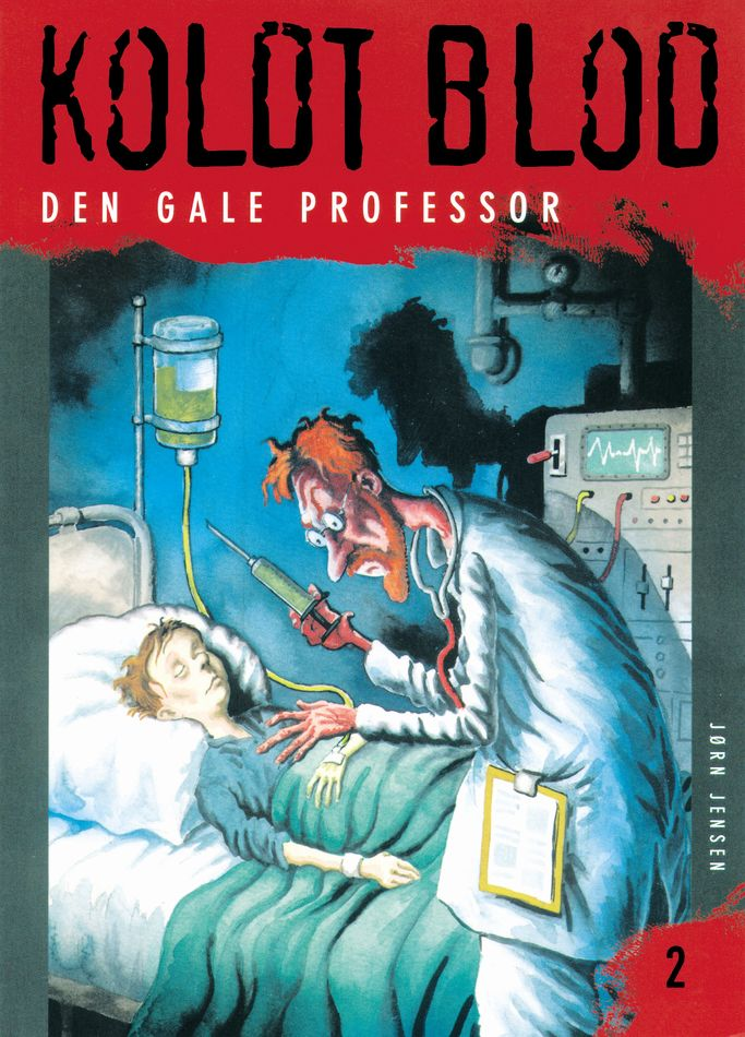 Koldt blod 2 - Den gale professor - Maneno