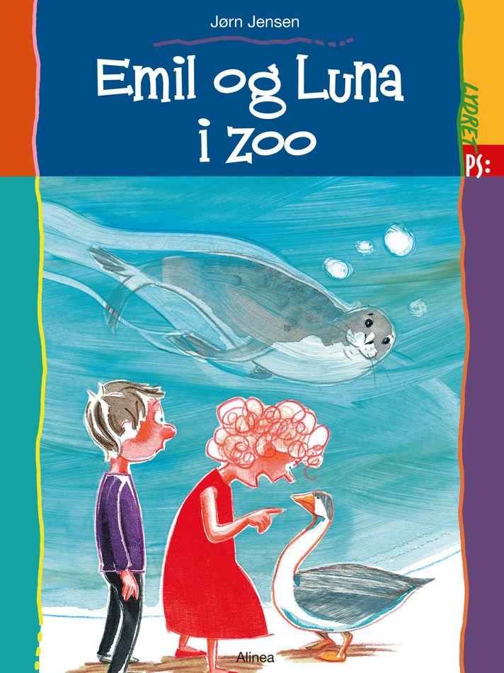 Emil og Luna i zoo - Maneno