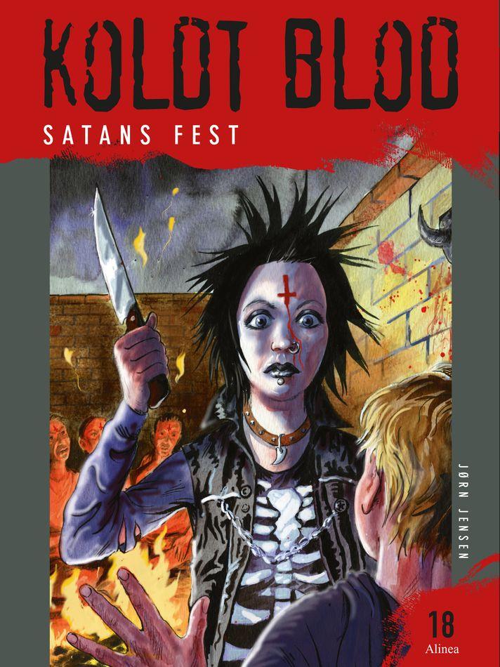 Koldt Blod #18: Satans fest - Maneno