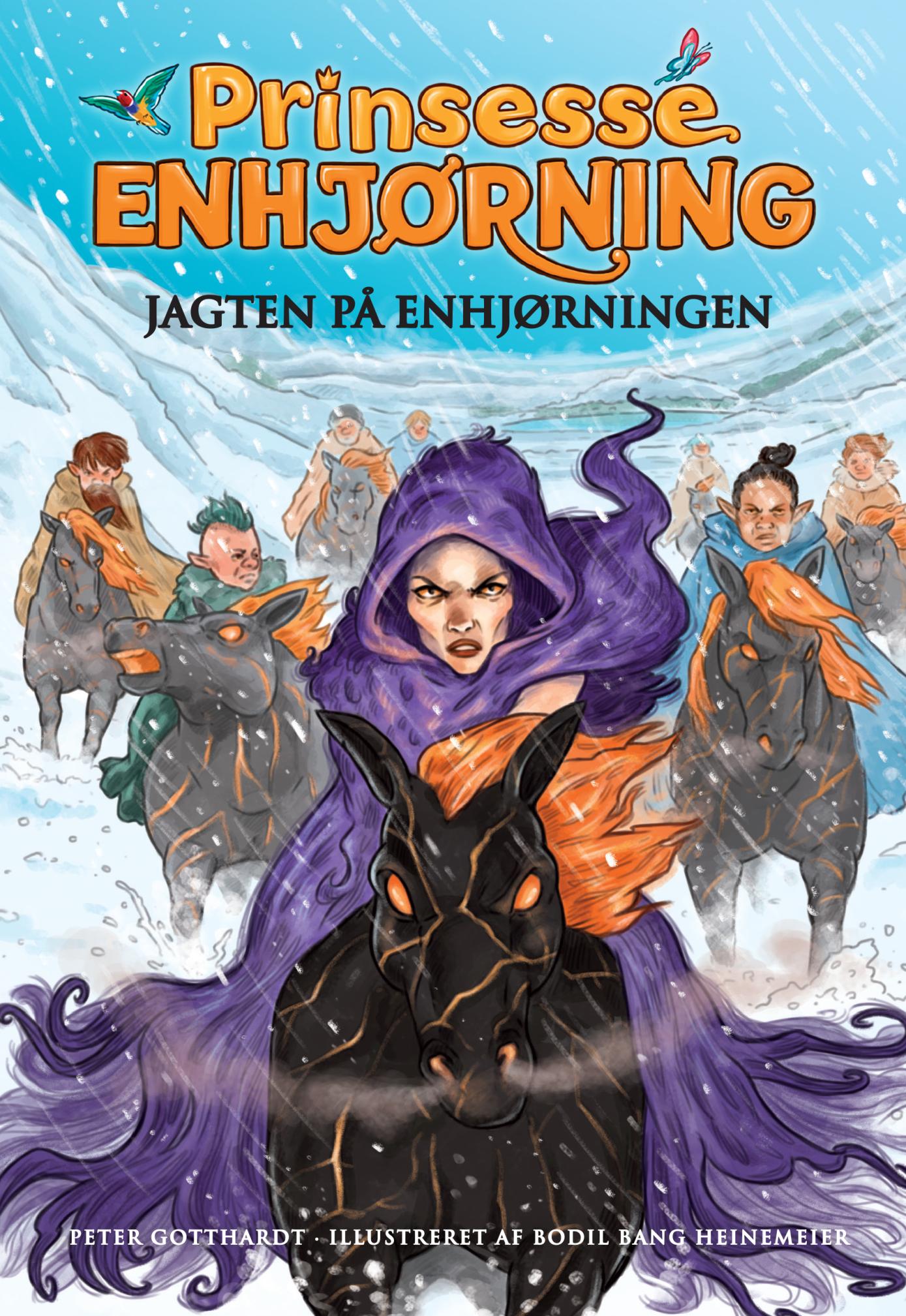 Prinsesse Enhjørning #6: Jagten på enhjørningen - Maneno