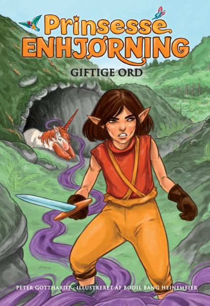 Prinsesse Enhjørning #7: Giftige ord - Maneno