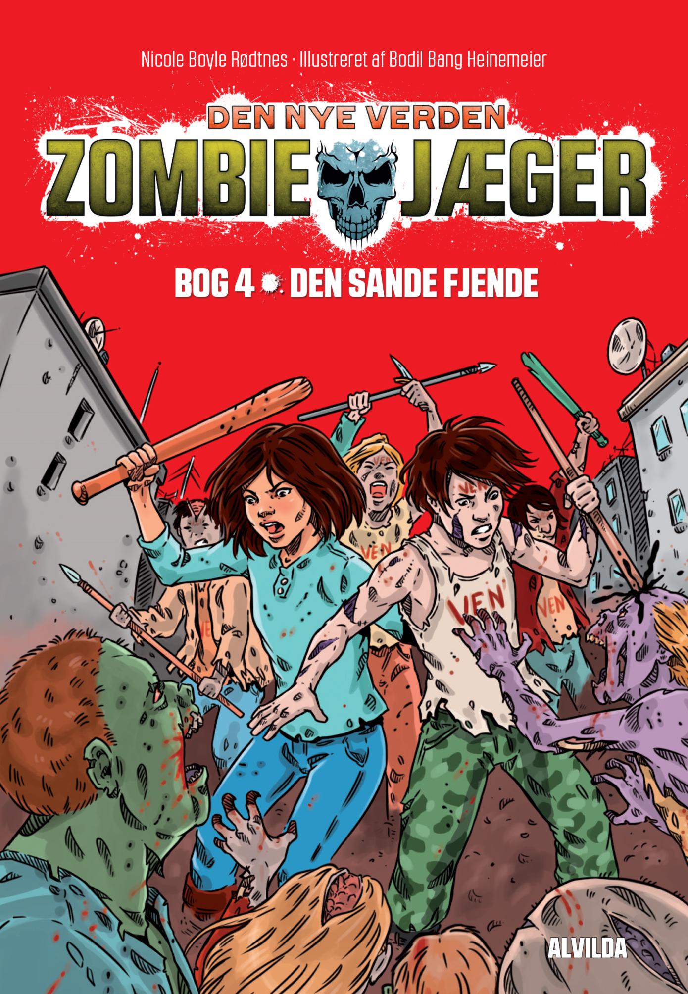 Zombie-jæger - Den nye verden #4: Den sande fjende - Maneno - 10894