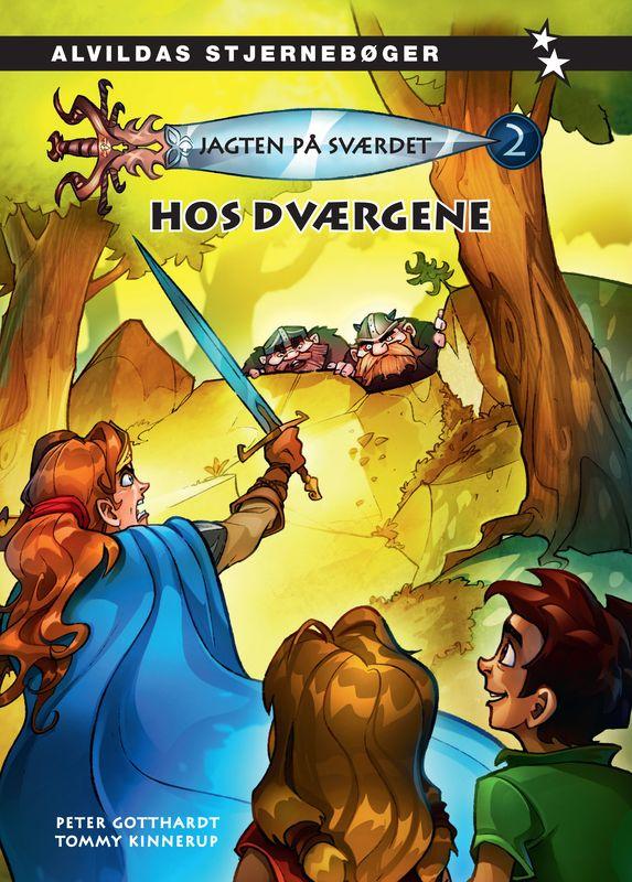 Jagten på sværdet #2: Hos dværgene - Maneno