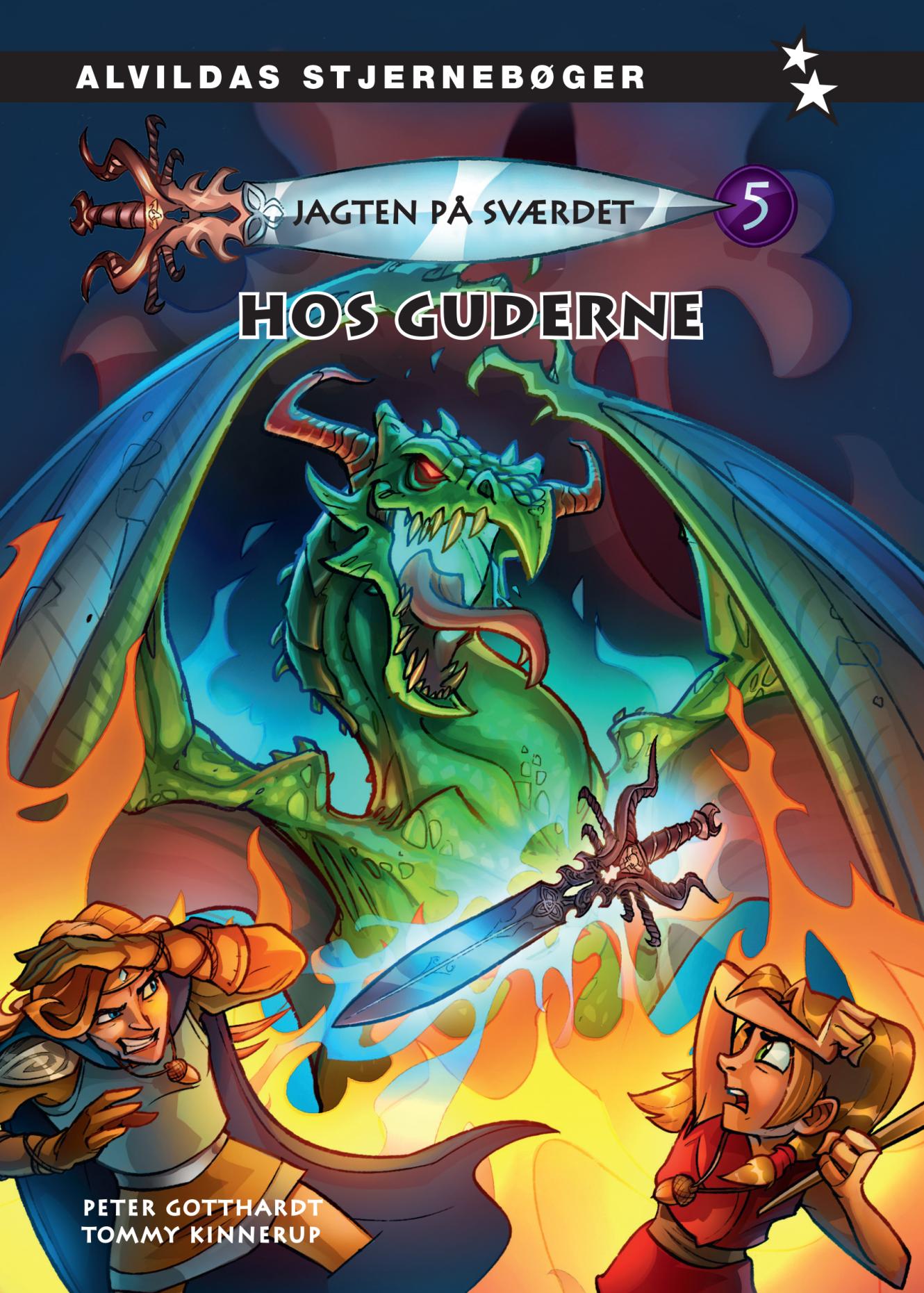 Jagten på sværdet #5: Hos guderne - Maneno