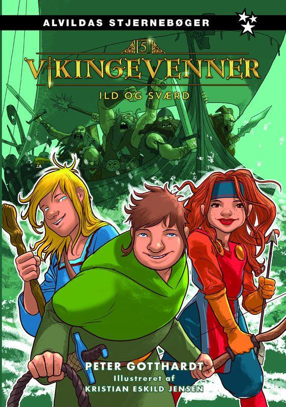 Vikingevenner 5: Ild og sværd - Maneno