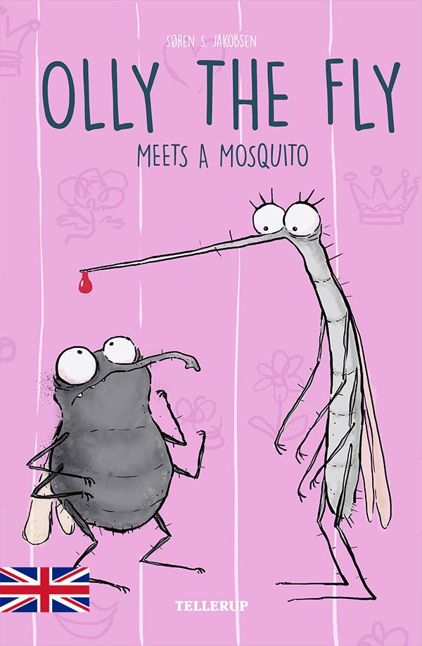 Olly the Fly #4: Olly the Fly Meets a Mosquito - Maneno