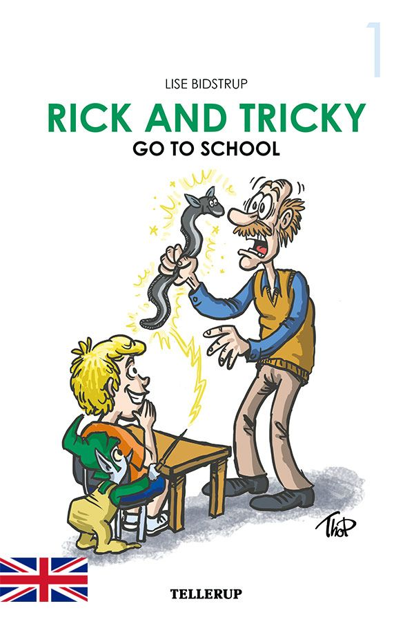 Rick and Tricky #1: Rick and Tricky Go to School - Maneno