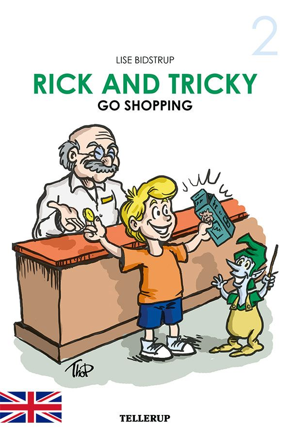 Rick and Tricky #2: Rick and Tricky Go Shopping - Maneno