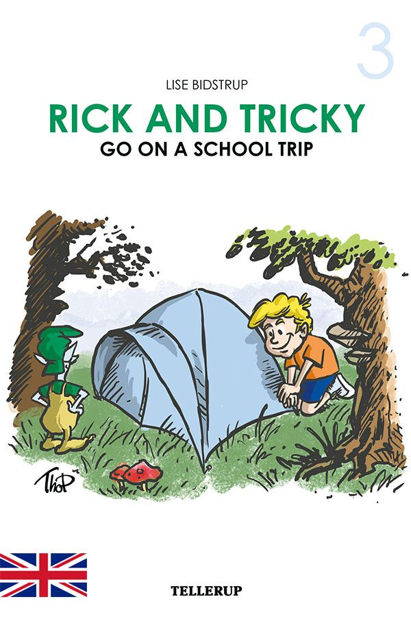 Rick and Tricky #3: Rick and Tricky Go on a School Trip - Maneno
