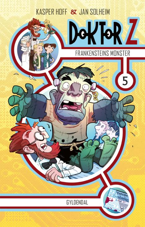 Doktor Z #5: Frankensteins monster - Maneno