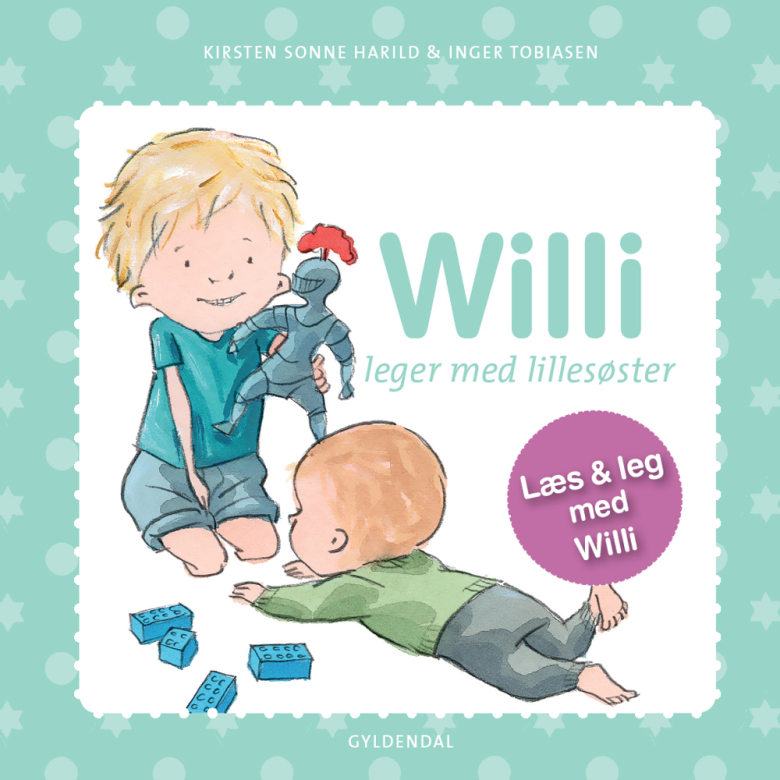 Willi leger med lillesøster - Maneno