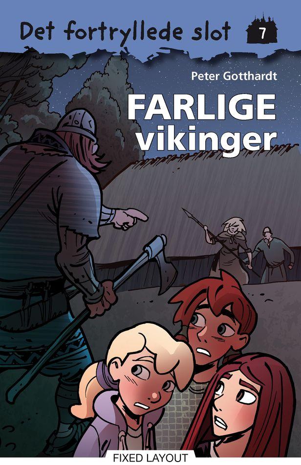 Det fortryllede slot #7: Farlige vikinger - Maneno
