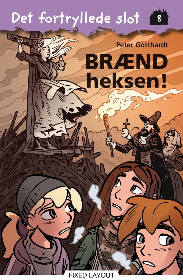 Det fortryllede slot #8: Brænd heksen! - Maneno