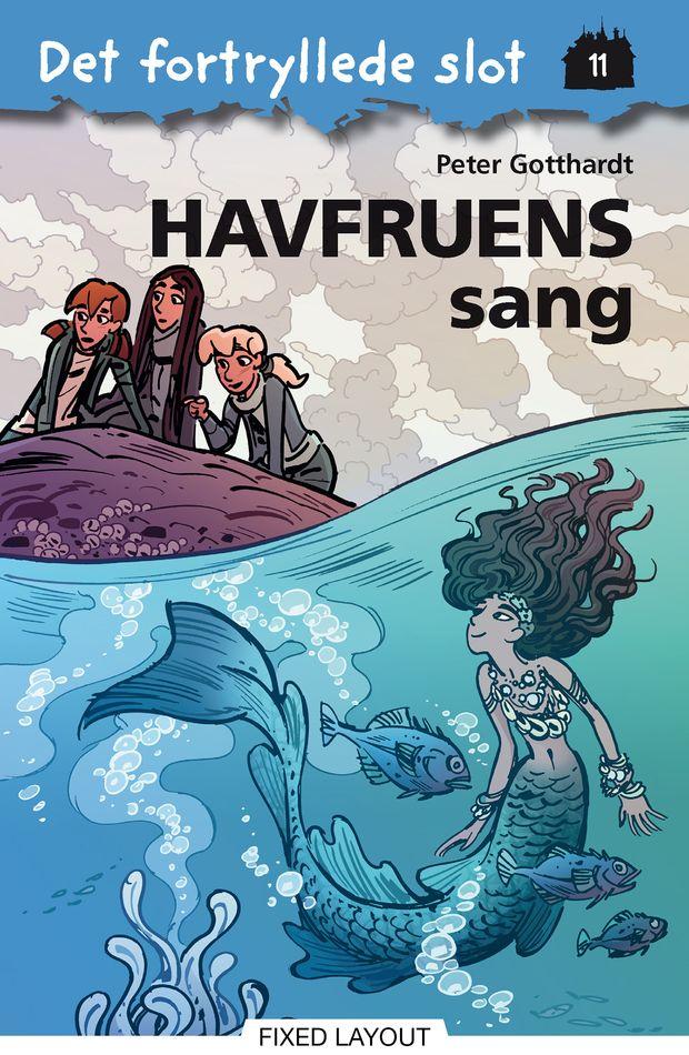 Det fortryllede slot #11: Havfruens sang - Maneno